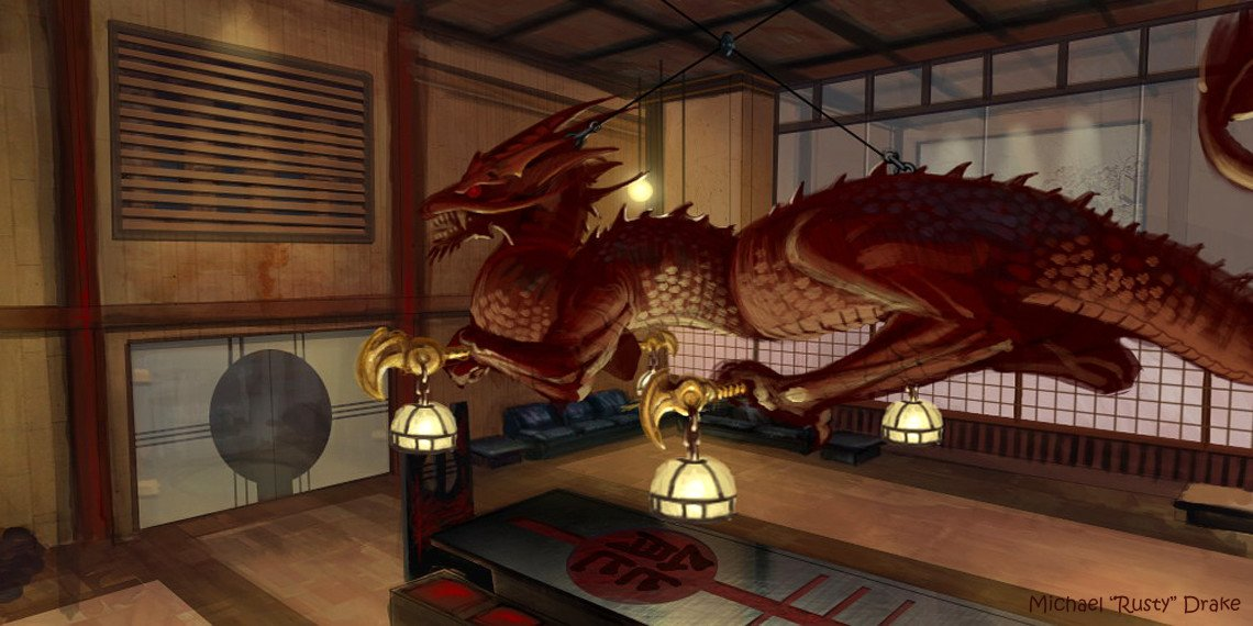Tokyo Dragon Room