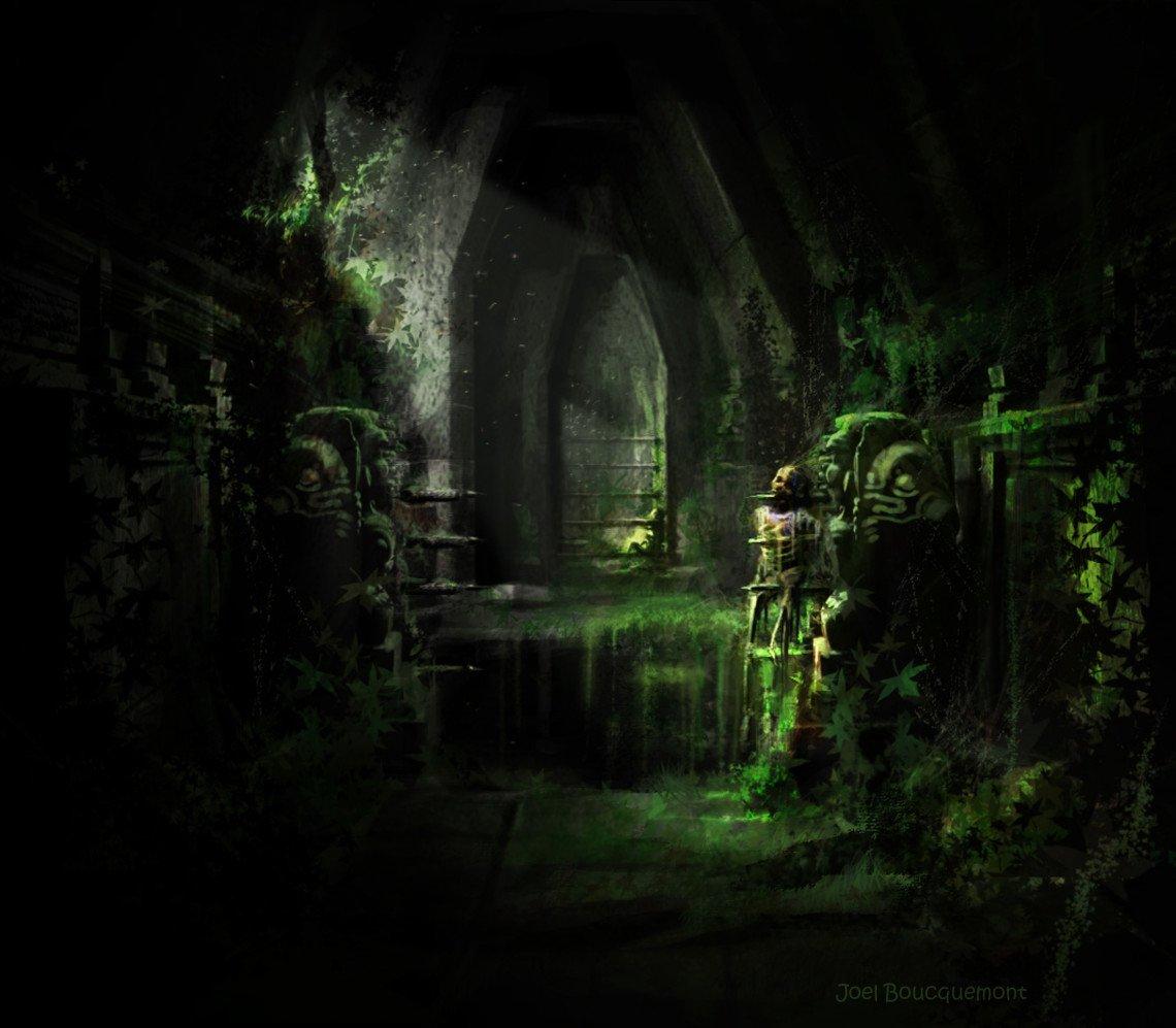 hallway of traps