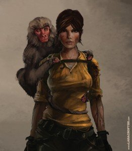 TRAscension_Lara_Monkey